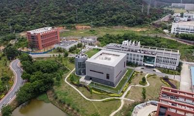 Лабораторията в Ухан, в която смятат някои, че е бил създаден вирусът.