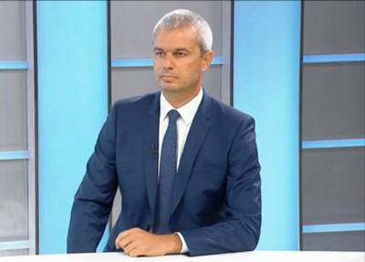 Костадин Костадинов Кадър: БНТ