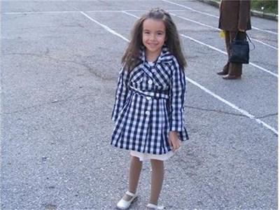 8-годишната Марина СНИМКА: ЛИЧЕН АРХИВ