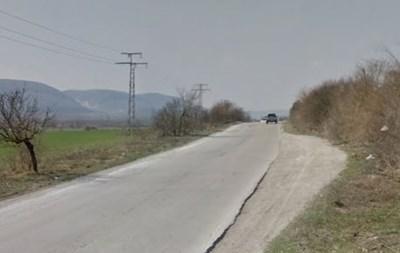 Пътят между Търговище и село Лиляк Снимка: Google street view