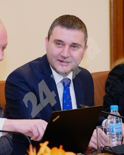 Финансовият министър Владислав Горанов СНИМКА: 24 часа