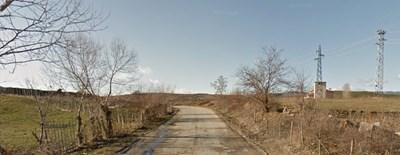 Мъжът е открит край село Абланица  СНИМКА: гугъл стрийт вю