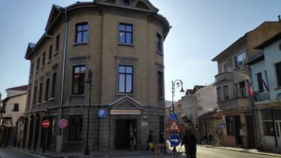 Обновената сграда -паметник, в която ще се помещава Административният съд