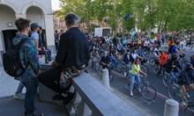 Антиправителствен протест в Словения