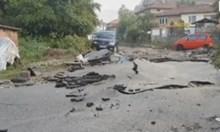 Жители на Котел: Приливната вълна беше два метра, асфалтът се надигаше (Снимки)