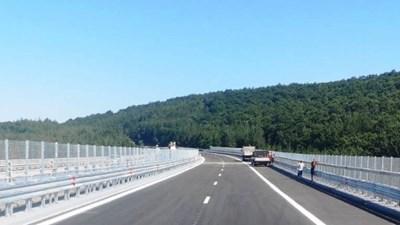 """Виадукт на магистрала """"Тракия"""" Снимка: АПИ"""