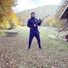 Георгиев позира с оръжието