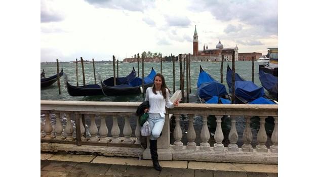 Маринела Георгиева,  на 23 г., от Монтана:  Бъдещето зависи от нас, трябва да го създадем в родината си
