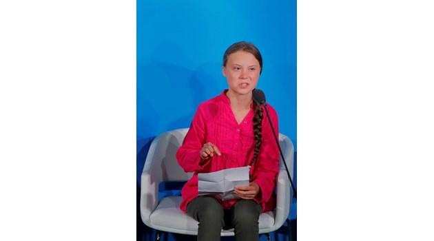 Грета Тунберг пред ООН: Откраднахте детството и мечтите ми (Снимки)