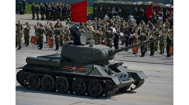 Подготовка в Русия за отложения парад по случай Деня на победата