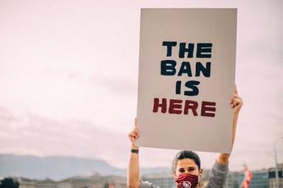 На 22 януари 2021 г. забраната за ядрено оръжие ще влезе в сила. Снимка: Туитър/ICAN