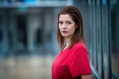 Сърчаджиева ще е дъщеря на зам.-министъра на здравеопазването в новия сезон.  СНИМКИ: КРАСЕНА АНГЕЛОВА