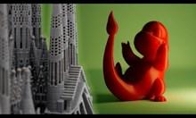 3D принтер в действие
