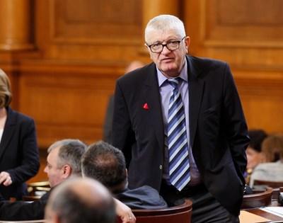 Шефът на икономическата комисия Петър Кънев СНИМКА: Румяна Тонeва