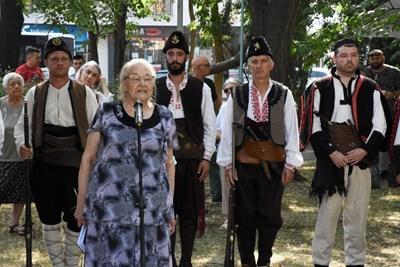 Д-р Лилия Учкунова призова да пазим свободата на нашата родина и да помним подвига на борците за свобода.