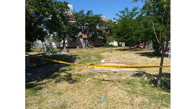 Вижте къде е станало убийството в Асеновград (Снимки)