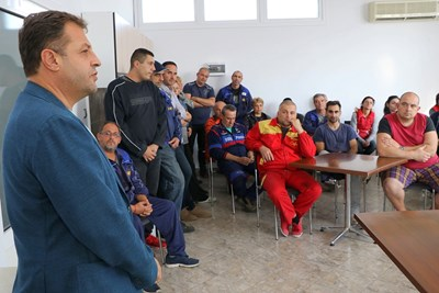 Даниел Панов се срещна с ръководствата и работниците на 4 големи компании