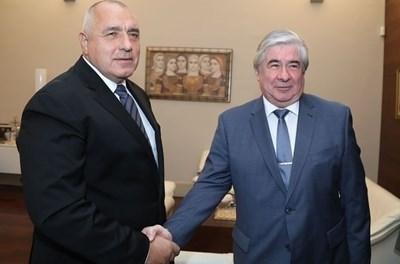Само преди дни Макаров се срещна с премиера Борисов Снимка: Фейсбук