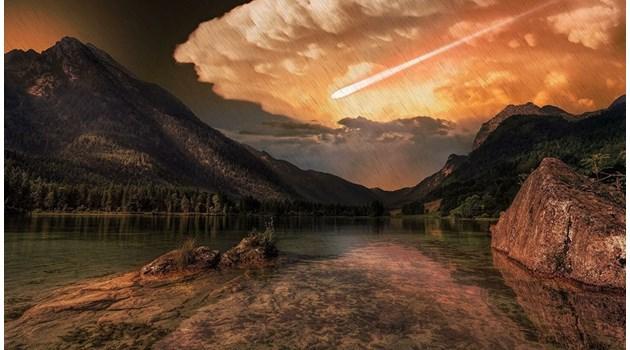 Кометен дъжд взривил Земята и я вледенил преди 12 800 г.
