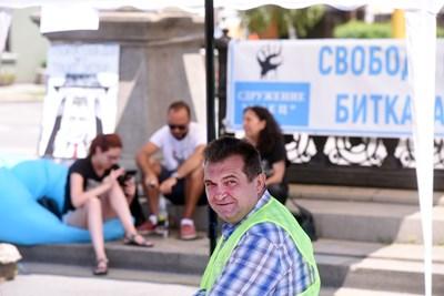Председателят на БОЕЦ Георги Георгиев
