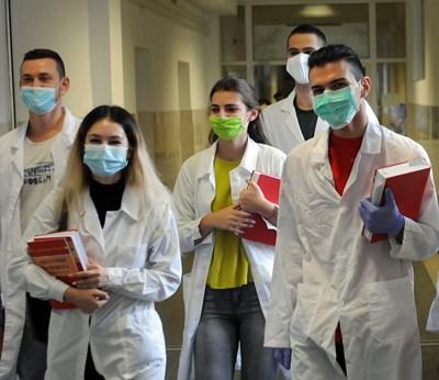 Студентите по медицина са с най-висок успех от дипломата си за средно образование. СНИМКА: Снимки: Велислав Николов