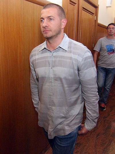 """Шефът на """"ТАД Груп"""" Иван Тодоров бе задържан за постоянно от апелативния специализиран съд. СНИМКА: Румяна Тонeва"""