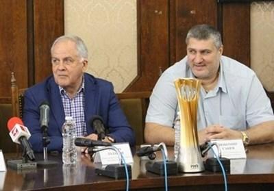 Данчо Лазаров и Любо Ганев