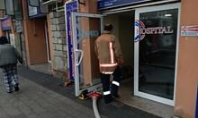 Пожар в онкологията на пловдивска болница (Снимки)