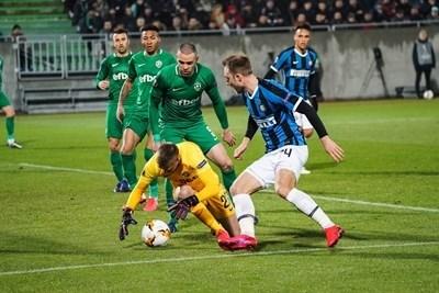 """Ревъншът """"Интер"""" - """"Лудогорец"""" е в четвъртък, 27 февруари, пред празни трибуни в Милано"""