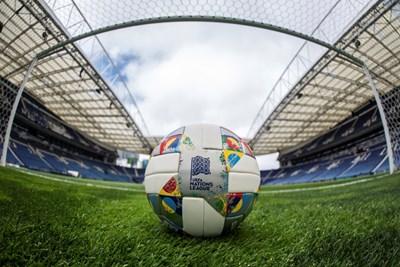 С тази топка ще се играе първият финал в Лигата на нациите. СНИМКА: УЕФА