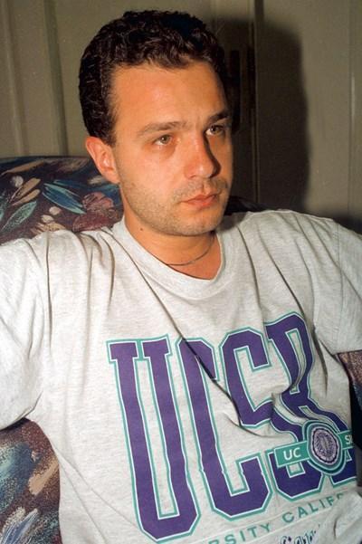 Емил Кошлуков като студент в САЩ