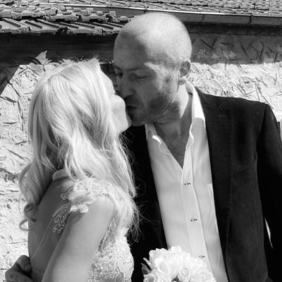 Мария и Нойзи се венчаха в с. Житен  снимка: Инстаграм