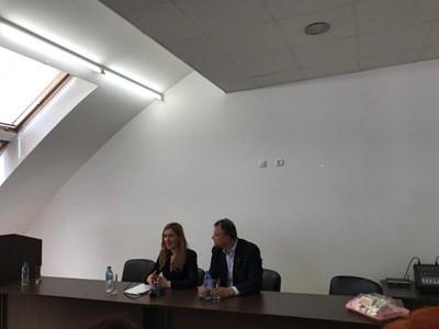 Министър Николина Ангелкова  СНИМКИ: Пресцентър на Министерството на туризма