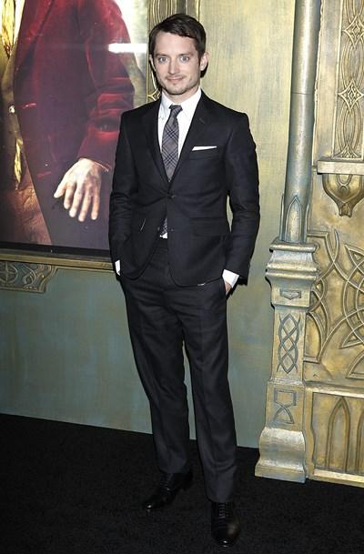 """Илайджа Ууд на премиерата на филм от трилогията """"Властелинът на пръстените"""" СНИМКА: РОЙТЕРС"""
