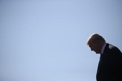 Президентът на САЩ Доналд Тръмп  СНИМКА: Ройтерс