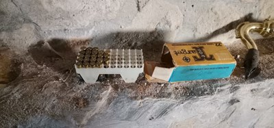 Откритите незаконни боеприпаси