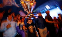 """Привърженици на """"Манчестър сити"""" отпразнуваха седмата титла на любимия си отбор в Англия"""