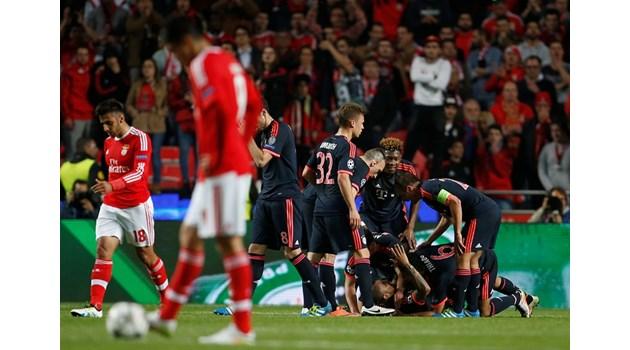 """""""Байерн"""" е фаворит номер 1 за трофея в Шампионската лига"""