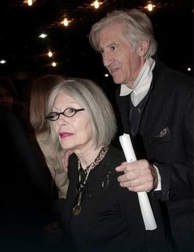 Любиша Самарджич и съпругата му Мира