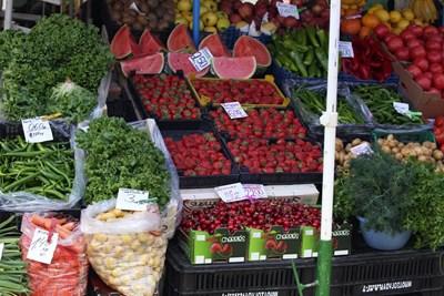 Бум на плодове и зеленчуци