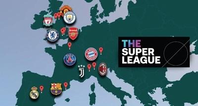 """""""Манчестър Сити"""", """"Челси"""", """"Барселона"""" и """"Атлетико"""" (М) излизат от Суперлигата"""