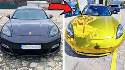 """Колата преди и след промяната  СНИМКА: """"АСТРА ФОЛИО"""""""