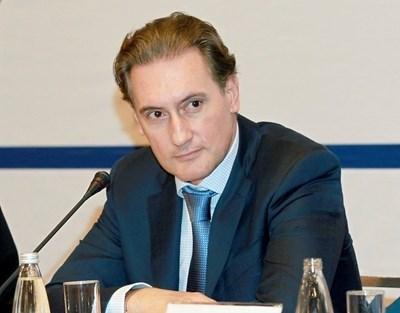 Председателят на КРИБ Кирил Домусчиев СНИМКА: Архив