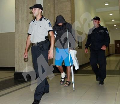 Герман Костин, заснет в Софийския градски съд. СНИМКА: 24 часа