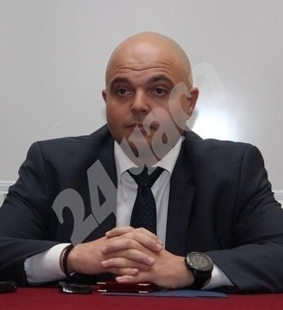 За случая съобщи главният секретар на МВР главен комисар Ивайло Иванов. Снимка Архив