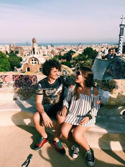 Феди и Деспина Снимка: Фейсбук/ Despina Katsirouba