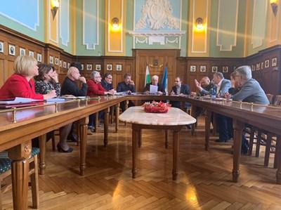 Инициативният комитет се срещна с кмета Здравко Димитров.