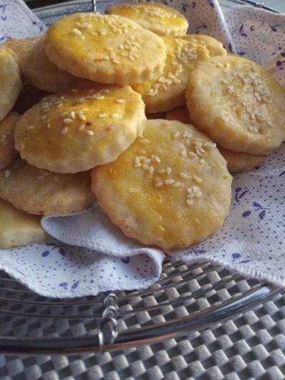 Соленки с оризово брашно