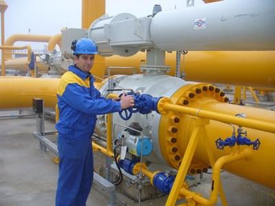 """Обновената компресорна станция """"Странджа"""", която е част от мрежата, чрез която ще доставя газ, изтъргуван на бъдещата борса."""
