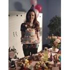 """Неда Спасова празнува рожден ден днес на снимките на """"Откраднат живот""""."""